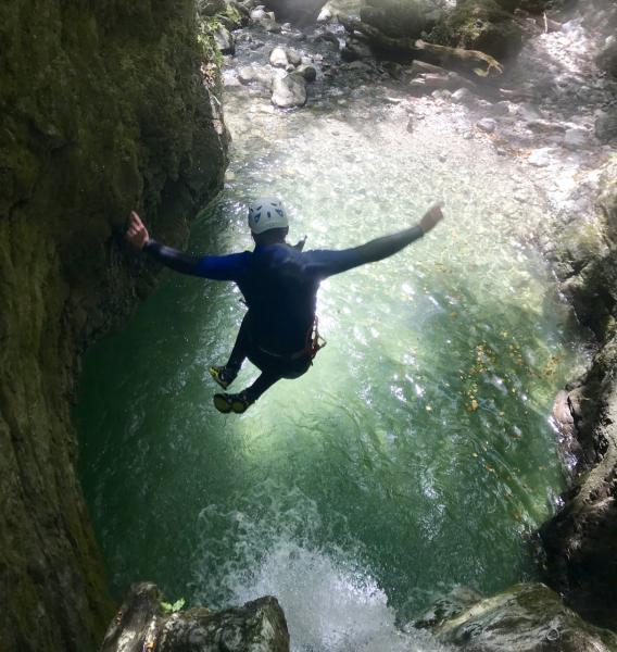canyoning beaufort