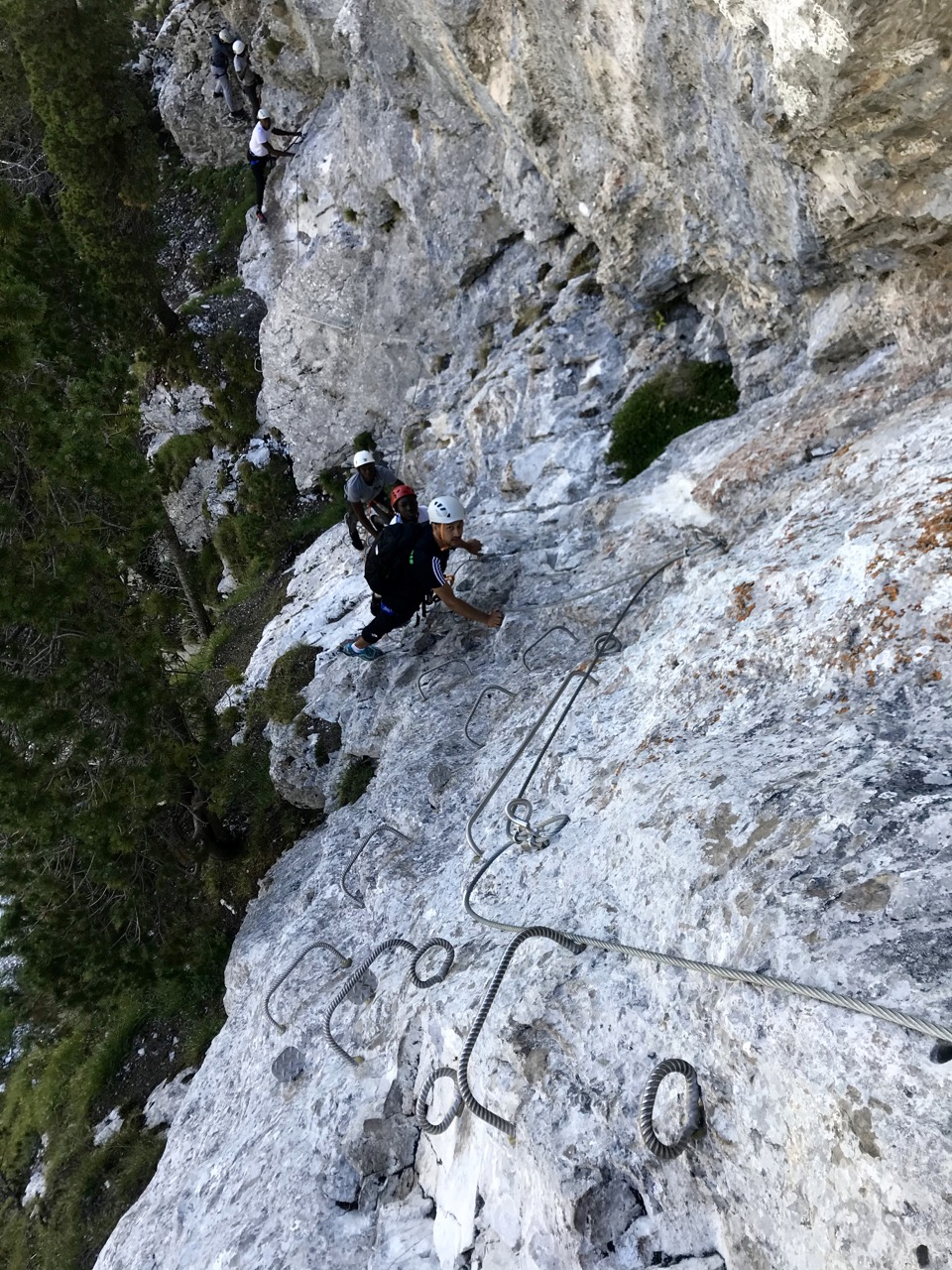 via ferrata bauges